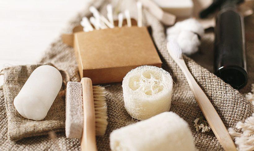 Zero Waste Kosmetik im Badezimmer